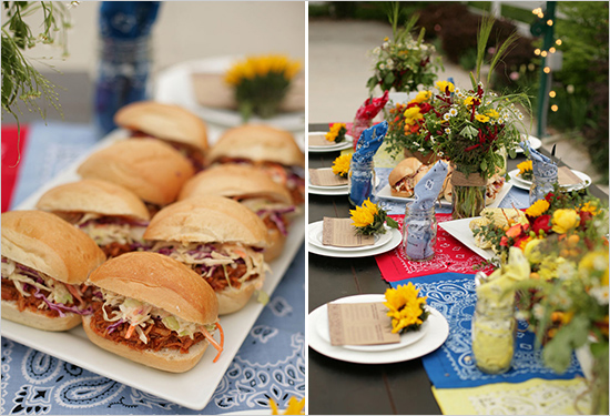 Heaven on Seven food catering options.